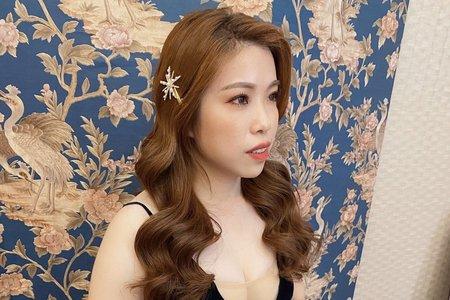 Shan|髮型|放髮、公主頭、側邊造型