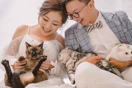 【巨星婚紗】寵物婚紗/毛小孩/貓奴