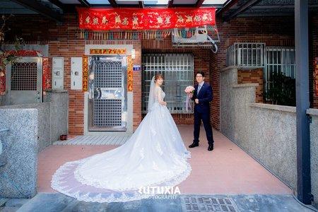 【台中婚攝】祈先&佳瑩 結婚迎娶紀錄 @台中-新野宴會館