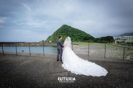 【宜蘭婚攝】皓淳&慧萍 結婚迎娶紀錄 @蘇澳-正宗豆腐岬海鮮餐廳