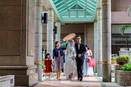 【台北婚攝】東霖&怡珊 結婚迎娶紀錄 @樹林-幸福宴婚宴會館