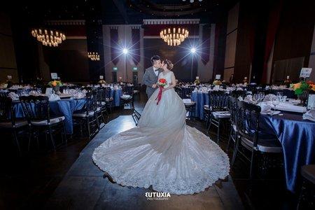 【桃園婚攝】嘉佑&佳茹 結婚迎娶紀錄 @八德-彭園會館宴客