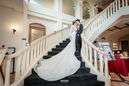 【台北婚攝】柏翰&瑋君 證婚紀錄 @台北-園外園宴客