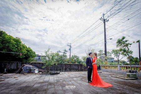 【宜蘭婚攝】柏樺&京芬 文定之囍紀錄 @宜蘭-渡小月餐廳宴客