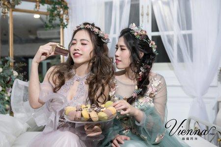 姊妹閨密婚紗(仙仙風)
