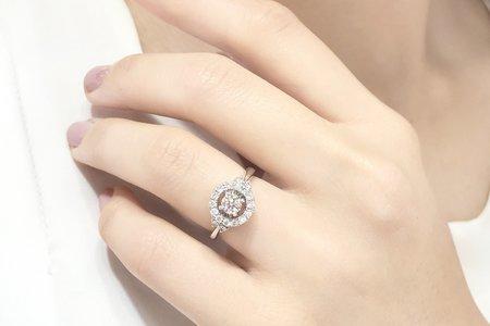 天然鑽石 鑽戒&婚戒