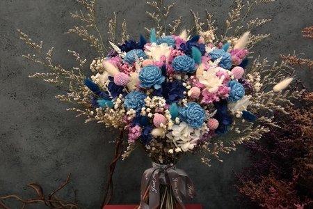 乾燥花新娘捧花