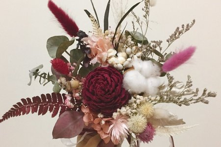 乾燥花款 捧花