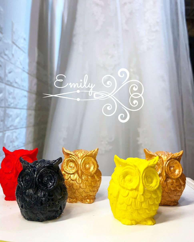貓頭鷹 - 唯一花坊/乾燥花/擴香石/捧花/婚禮小物《結婚吧》