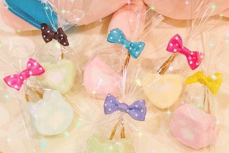 大顆造型棉花糖❤ Q寶❤婚宴禮品小舖