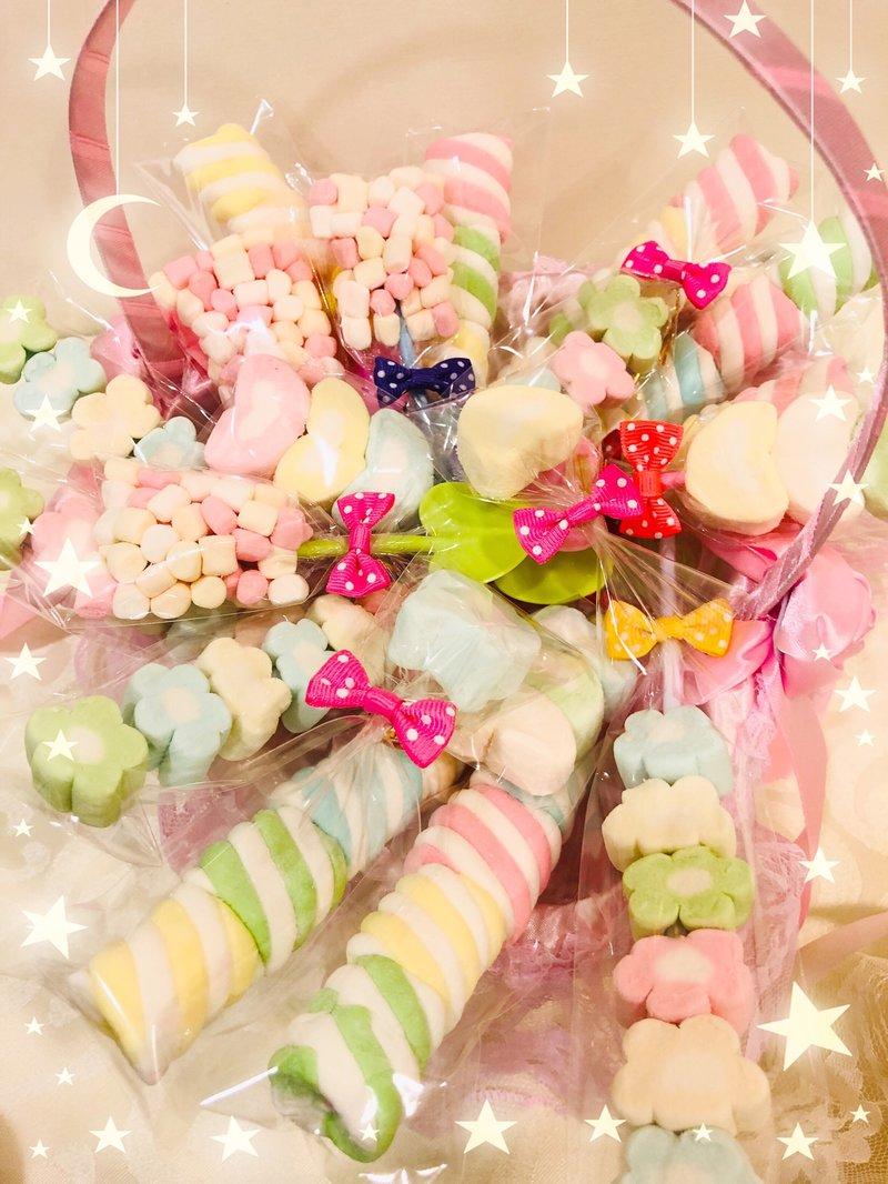 ❤️大顆愛心棉花糖❤️一口滿足❤️甜心上市❤️作品