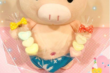 ❤️小愛心造型棉花糖~小巧可愛❤️甜蜜滿分