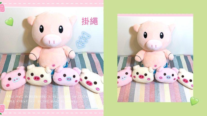 🐷 小萌豬玩偶掛飾🥰迷你可愛 🐷作品