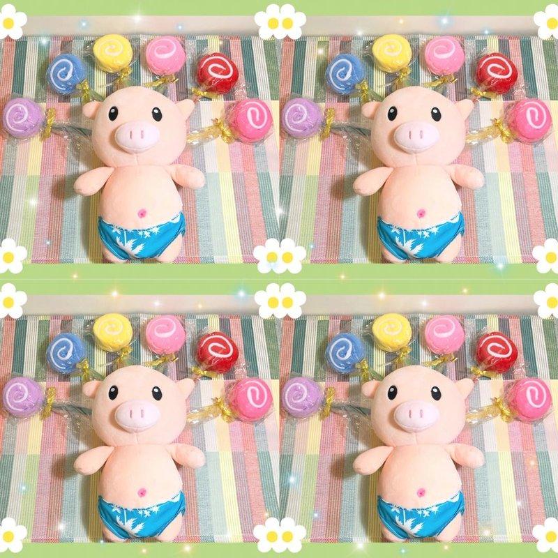 ✨可愛棒棒糖🍭造型毛巾❤️作品