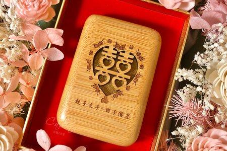 ᴄᴀᴅᴇᴀᴜ | Flowers | 繁花 | 玉檀 | 結婚對章禮盒