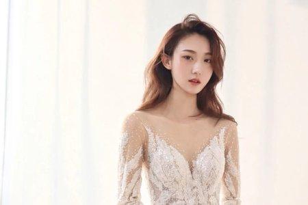 愛上手工白紗的新娘