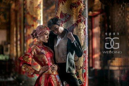 格格嫁到❤浪漫婚紗❤-中式