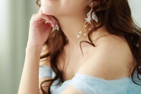 浪漫羊毛捲新娘造型