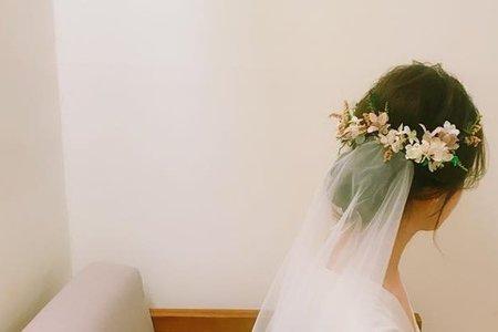 婚禮造型單妝服務