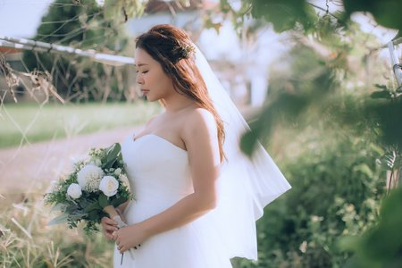 婚紗拍攝整體造型