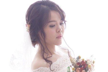 單新娘妝髮