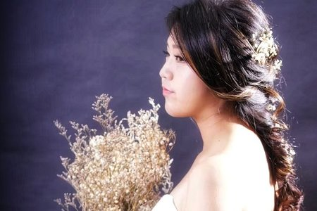 Nancy 新娘秘書*乾燥花髮飾