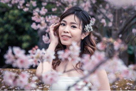 櫻花景婚紗外拍