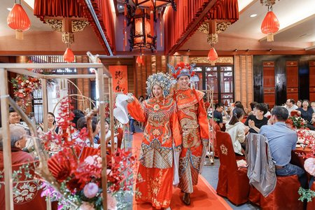 [婚攝精選]- Tom&Cynthia 純宴客婚禮記錄 @高雄福客來中餐廳 #婚攝麒閔