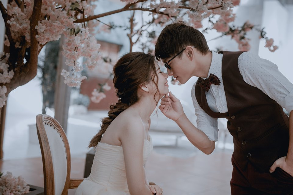 J2 wedding 板橋 手工訂製婚紗,J2團隊超貼心❤️