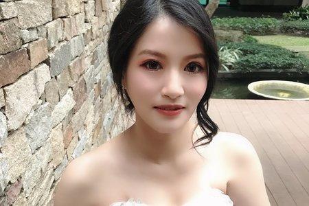 Sandy 芯儀彩妝造型x浪漫唯美編髮