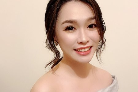Sandy 芯儀彩妝造型x噴槍底妝-佩怡