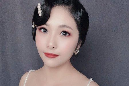 Sandy 芯儀彩妝造型-復古女伶