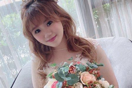 Sandy芯儀新娘秘書x噴槍底妝-日系甜美風