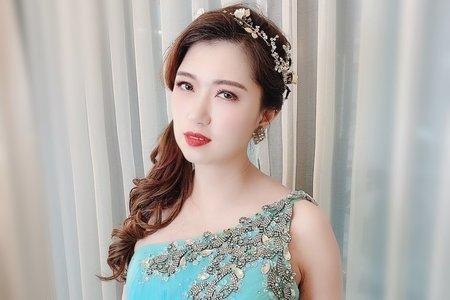 Sandy 芯儀彩妝造型-仙女浪漫編髮