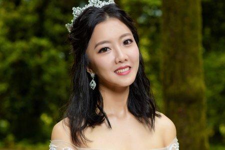 Sandy 芯儀彩妝造型x噴槍底妝-韓式白紗造型