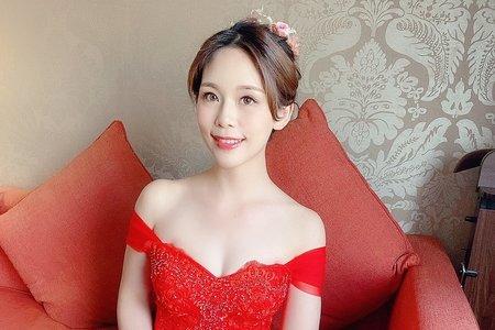 Sandy 芯儀彩妝造型x噴槍底妝-文伶