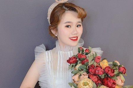 Sandy芯儀新娘秘書x噴槍底妝-復古甜美