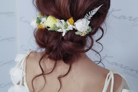仙氣低盤髮
