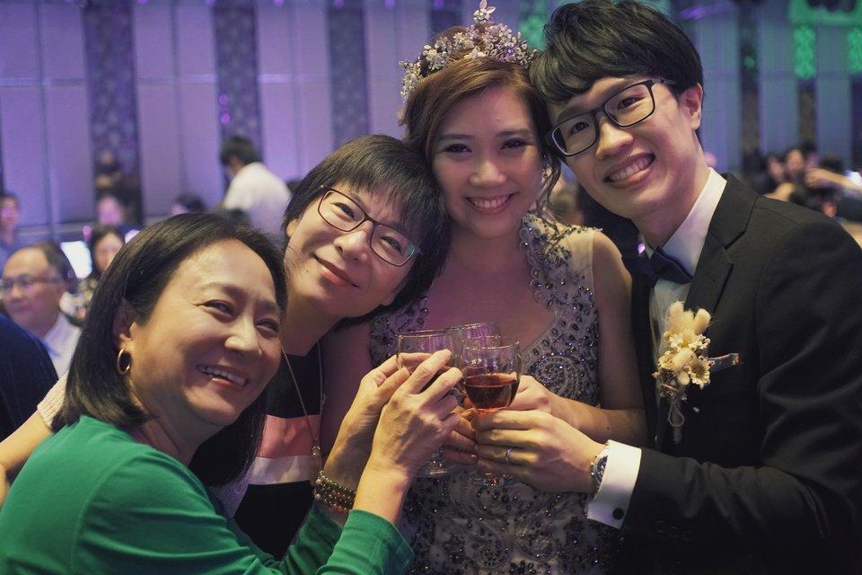 彭園婚宴會館-台北館,菜色好、服務佳、交通方便的婚宴場地、很專業的婚企Jessica及欣蓉 Sunny