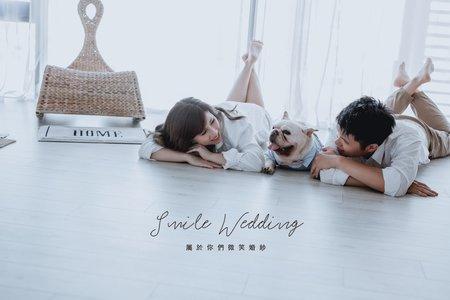 Smile wedding (美式婚紗)
