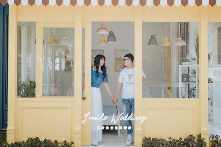 Smile wedding (韓風自然)愛麗絲天空