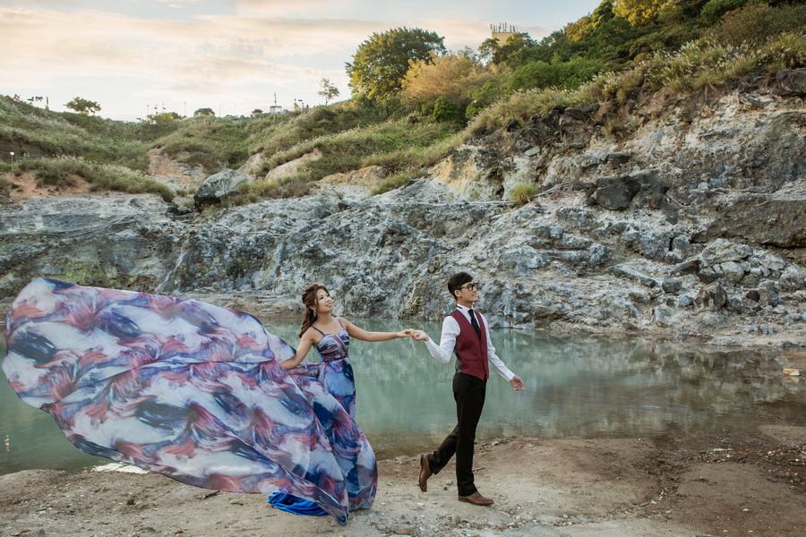 風華絕色 § 完美婚事-婚紗攝影,晴晴姐是接待我們的人,給了我們很多建議