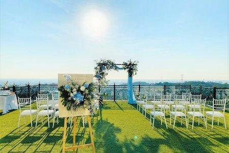 戶外證婚儀式