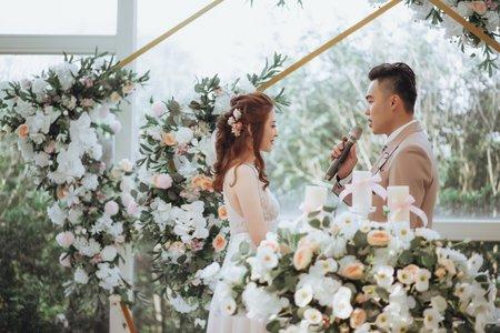 唯美證婚儀式