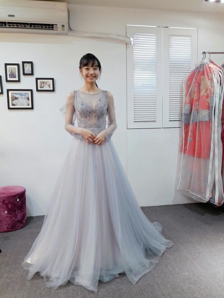 紗法亞精品婚紗,激推紗法亞婚紗公司小欣!