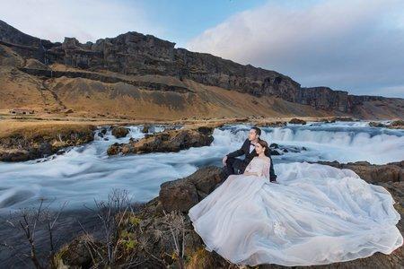 冰島海外婚紗/朵朵婚紗