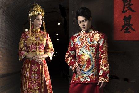 Kenji & Sarah - 中式秀和服