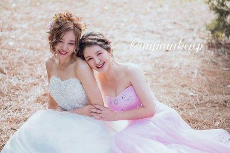 CINYI makeup X白橡樹婚禮攝影