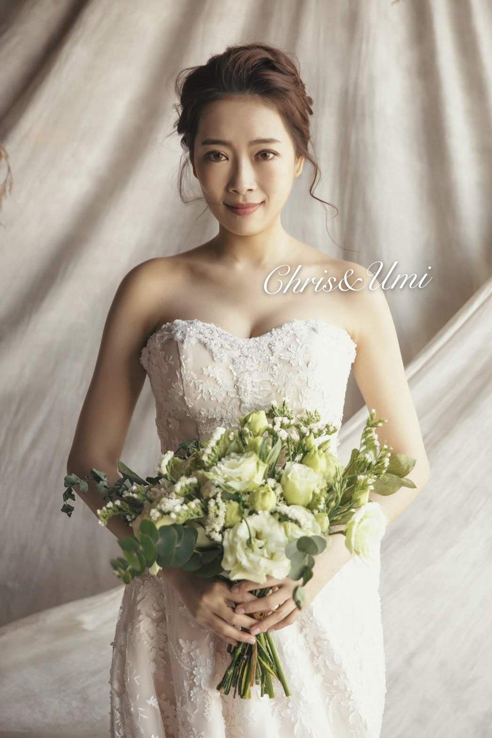 #Chris&Umi全球新秘推薦#與古拉合作拍攝 - Chris han新娘造型《結婚吧》