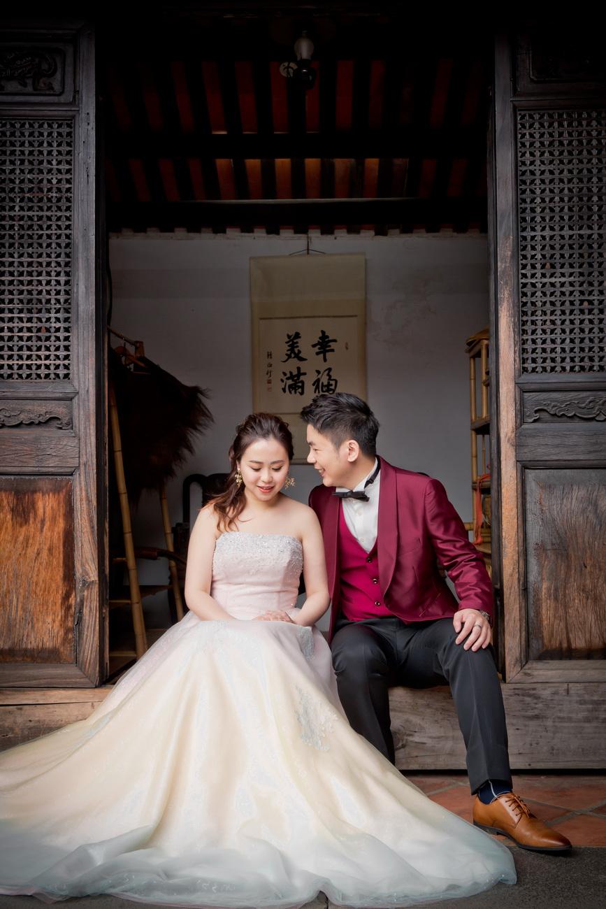 風華絕色 § 完美婚事-婚紗攝影,感謝老天,給我們好天氣。
